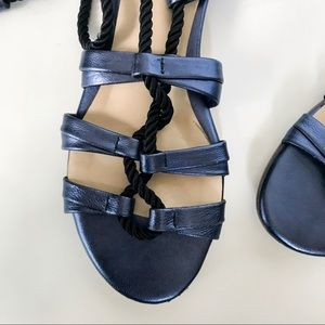 177a9fe7e Anthropologie Shoes - Anthropologie Blue Billy Ella Gladiator Sandals